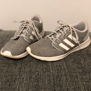 Adidas Grey running shoes